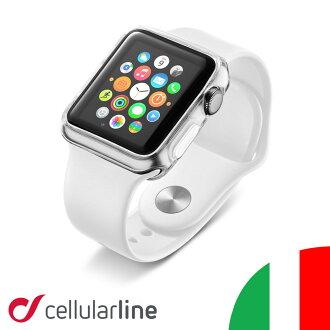 苹果看案例苹果手表苹果手表案例苹果手表案例苹果手表案例苹果手表盒盖 42 毫米电影封面 applewatch 保护细胞行 Cellularline