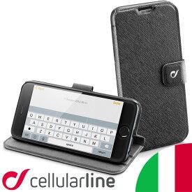 iPhone 6s plus SE 5s 5 iPhone6 手帳型 ケース アイフォン スタンド ブランド マグネット レザー Cellularline セルラーライン VISION SLIM| スマホ スマートフォン スマホケース カバー アイフォンケース アイホン アイホン6sケース アイホンケース アイフォン6sプラス