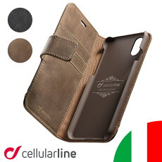 CellularlineiPhoneケース手帳型本革iPhoneiPhone1111ProMaxXSMaxXXRiPhone8iPhone7iPhoneカバーアイフォンケースアイフォンアイフォーンアイホンカバーケースSUPREMEブランドイタリア海外ハンドメイドおしゃれかっこいいカード収納