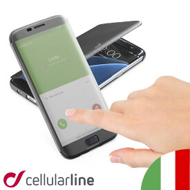 Galaxy S7 edge ケース 手帳型 高級 イタリア ブランド セルラーライン Cellularline|カバー 携帯ケース スマホケース スマホカバー ギャラクシーs7 エッジ 携帯カバー スマートフォン スマートフォンケース 手帳型ケース 手帳 ギャラクシー 手帳ケース 手帳型スマホケース