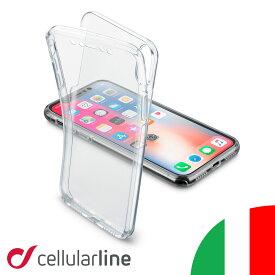 Cellularline iPhoneケース クリア 全面保護 iPhone iPhone8 iPhone7 iPhone6s iPhone6 アイフォン8 アイフォン7 アイフォン6s アイフォン6 ケース カバー アイフォン アイフォーン アイホン スマホケース 透明 薄型 耐衝撃 海外 ブランド