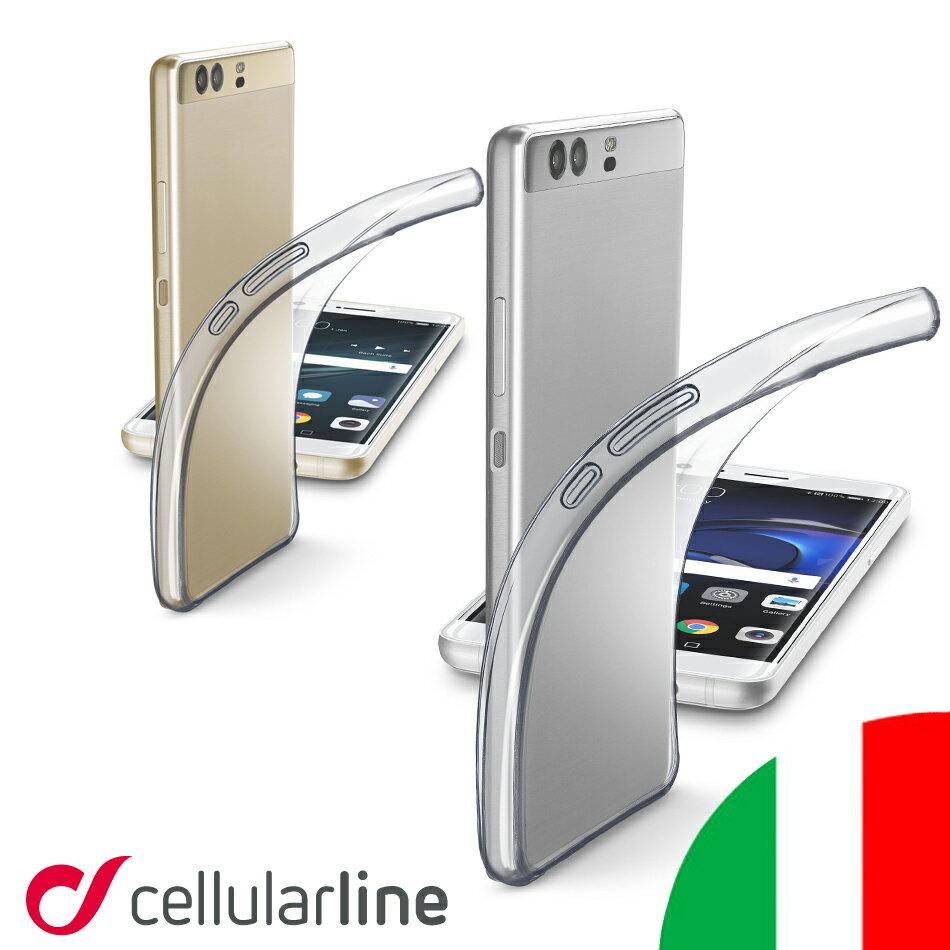 Huawei P10 Plus ケース クリア 透明 オシャレ カバー 薄い スリム イタリア セルラーライン Cellularline FINE 送料無料 ファーウェイ ハーウェイ クリアケース スマホ スマートフォン スマホケース スマートフォンケース 携帯ケース 耐衝撃 シリコン スマホカバー おしゃれ