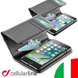 iPhone8 ケース iPhone7ケース iPhone アイフォン8ケース iphone7 iphone6 iphone6s ブランド おしゃれ アイホン7ケース セルラーライン Cellularline WALLET 手帳型| アイフォン7 iphone スマホ スマホケース 携帯ケース アイフォン アイフォンケース アイホン アイフォン6
