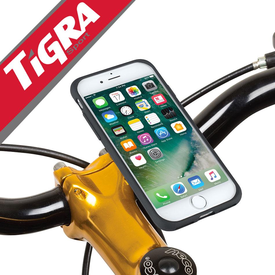 TiGRA Sport iPhone8 iPhone iPhone7 Plus iPhone6s バイク スマホ スマートフォン 防水 ロードバイク アイフォン |スマホホルダー スマートフォンホルダー 携帯ホルダーアイホン アイフォン7 iphone7ケース 送料無料 iPhone 自転車ホルダー ケース ホルダー