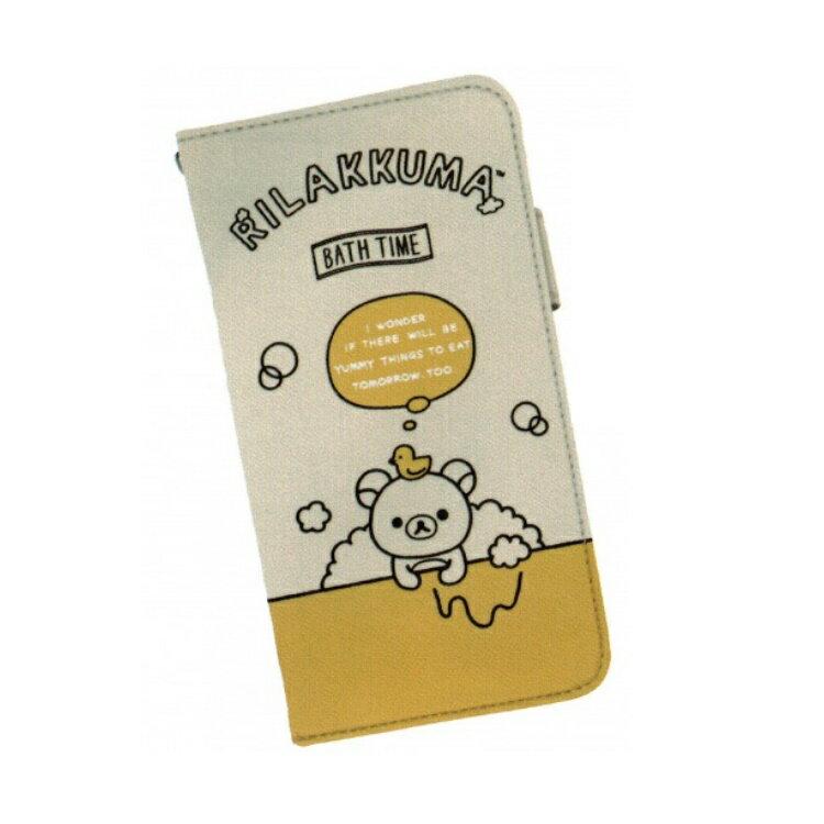 リラックマグッズ カースマートフォンケース イエロー カジュアル カー用品 504205