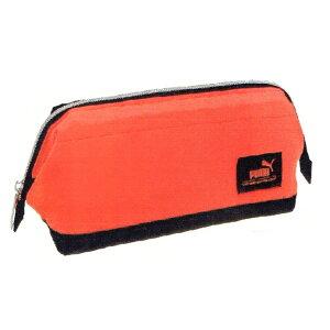 プーマグッズ ワイドマウスペンケース オレンジ PUMA 153365