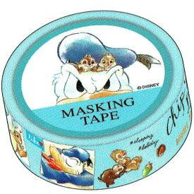ディズニー ドナルド チップ&デール グッズ マスキングテープ 231524