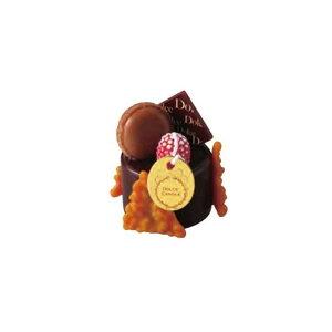 カメヤマ グッズ スイーツキャンドル ドルチェ ザッハトルテ チョコレートの香り