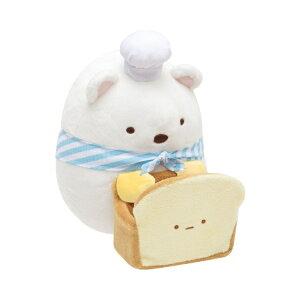 すみっコぐらし マルチスタンド ぬいぐるみ しろくま 食パン ギフト プレゼント インテリア すみっこ サンエックス グッズ すみっコパンきょうしつ パン屋すみっコ
