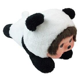 モンチッチグッズ ぬいぐるみL 寝そべりモンチッチ パンダ