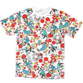 ルーニー・テューンズ グッズ Tシャツ L 総柄 バスケ サマーアイテム 781828