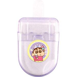 クレヨンしんちゃんグッズ アイスキャンディ型消しゴム パープル 120277