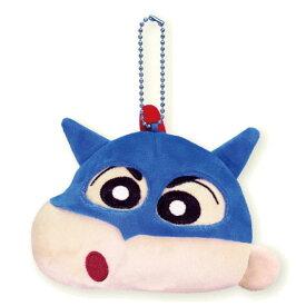 クレヨンしんちゃん グッズ サウンドマスコット ボールチェーン付 アクション仮面しんちゃん 832955