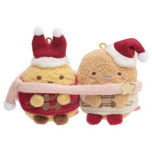 すみっコぐらしグッズ なかよしてのりぬいぐるみ えびふらいのしっぽ&とんかつ すみっコぐらしコレクション クリスマスグッズ