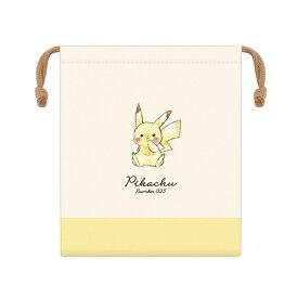 ポケットモンスター グッズ マチ付き巾着 抗菌防臭 ピカチュウ Pikachu number025 000628