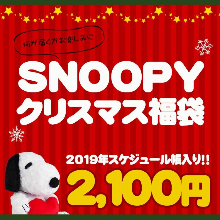【11/20以降〜出荷】【クリスマスの袋入り〔xwrap60〕】【福袋・ラッピング不可】1690【スヌーピー】クリスマス福袋