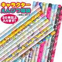 【ゆうパケットOK(※1セットのみ)】【福袋・ラッピング不可】653 キャラクターえんぴつ福袋