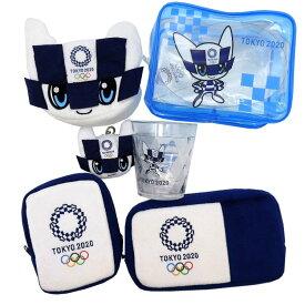 4332 福袋 【柄はおまかせ】 オリンピック グッズ 東京2020オリンピック&パラリンピックグッズ6点セット O2【ラッピング不可】
