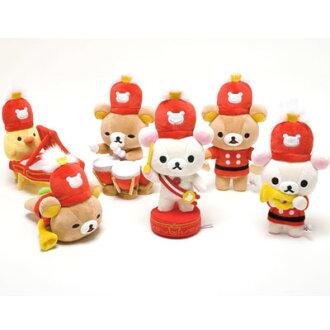 Gathering the rilakkuma toy stuffed six set ★ rilakkumawanderland ★ ★ 10th anniversary ★