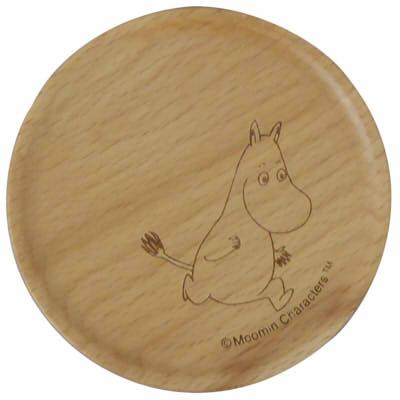 【ムーミン】木製コースター(ムーミン)[342855]
