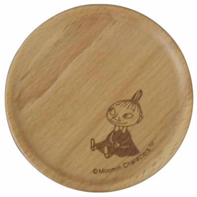 【ムーミン】木製コースター(リトルミイ)[342862]