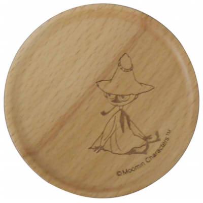 【ムーミン】木製コースター(スナフキン)[342879]