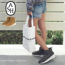 869ea36622b0 【ASH/アッシュ】#MIKO WOMENS BOOTSイタリア発ブランド/レザースニーカーブーツ