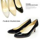[◆新作◆続々入荷♪]【FABIO RUSCONI】ファビオルスコーニ #KIM一足はもっておきたいシンプルでベーシックなパテントパンプス♪レディース/靴/エナ...