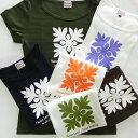 フレンチ Tシャツ キルト ウル フラ ラウレア ハワイ 半袖