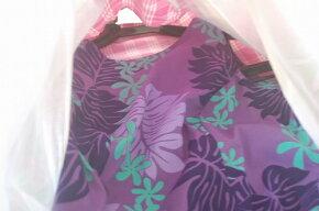 ◆フラダンス◆ハワイアン衣装ケース/ドレスケース・ガーメントバッグ◆フラガール柄黒