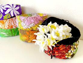 ◆フラダンス◆レイ・レイポーケース/ヘアクリップケース フラ ハワイ/ラウナハワイ/巾着
