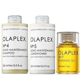オラプレックス No.4 5 7 ボンド メンテナンス シャンプー&コンディショナー&ヘアオイル Olaplex Bond Maintenance Shampoo & Conditioner & Bonding Oil