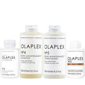 オラプレックス No.3 4 5 6 ボンド メンテナンス シャンプー & コンディショナー & ヘアパーフェクター & リーブイン トリートメント Olaplex Bond Maintenance Shampoo & Conditioner & Hair Perfector & Bond Smoother