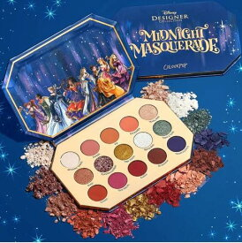 Colourpop カラーポップ x DISNEY プリンセス Midnight Masquerade アイシャドウパレット