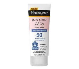 ニュートロジーナ ベビーサンスクリーンSPF50 【88ml】 敏感肌用 目にしみない日焼け止め