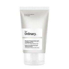 The Ordinary (ジオーディナリー) ビタミンC 23%+ヒアルロン酸 2% クリーム【30ml】Vitamin C Suspension 23% + HA Spheres 2%