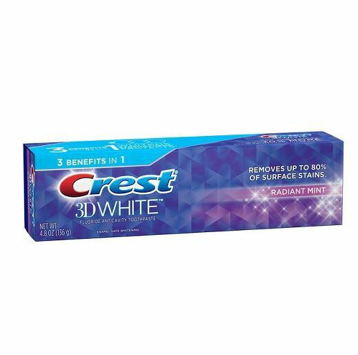 クレスト 3Dホワイト ラディアントミント 歯磨き粉 Crest 3D White Radiant Mint 136g
