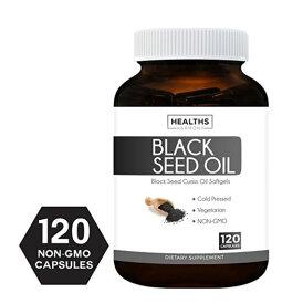 ブラックシードオイル 500mg(120ソフトジェルカプセル)Black Seed Oil ブラッククミンオイル サプリメント