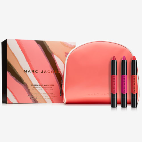 MARC JACOBS BEAUTY マークジェイコブス リキッドリップ クレヨンコレクション Somewhere, Anywhere - Le Marc Liquid Lip Crayon Collection