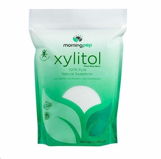 特大! キシリトール粉末【2267g】100%ピュア白樺パウダー 甘味料 Morning Pep 100% Pure Birch Xylitol sweetener