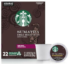 スターバックス スマトラ44個(22×2箱) ダークロースト キューリグ kカップ K-CUP Starbucks Sumatra