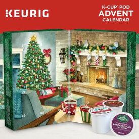 キューリグ kカップ コーヒー アドベントカレンダー Advent Calendar Variety Pack 24個
