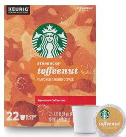 スターバックス トフィーナッツ44個(22×2箱) ミディアムロースト キューリグ kカップ K-CUP Starbucks Toffeenut