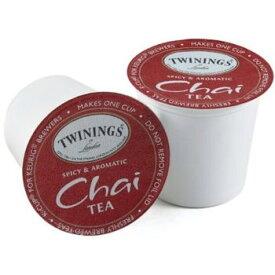 【Twining】トワイニングティー チャイ【48個】 甘さとスパイシーさが絶妙のバランスChaiTea キューリグ kカップ k-cup