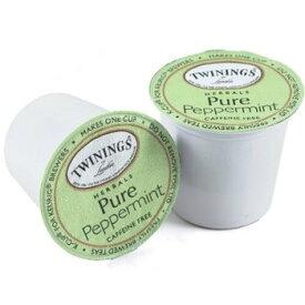 【Twining】トワイニングティー ペパーミント 【48個】 100%ナチュラル・カフェインフリー キューリグ kカップ k-cup