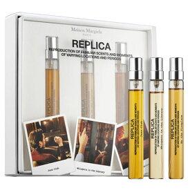 メゾン マルジェラ(Maison Margiela)REPLICAレプリカ (Jazz Club, Whispers In The Library, By The Fireplace) トラベル 3本セット 各10ml