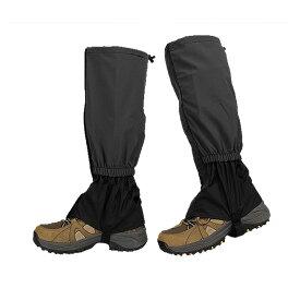 登山ゲイター 登山スパッツ ロングスパッツ 防水 泥除け 雨よけ 雪対策 トレッキング アウトドア 男女兼用 TOZAGEDA