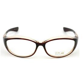 花粉メガネ ブラウン ウィルス対策 ゴーグル 防塵 花粉対策 伊達メガネ予防 ダテ 眼鏡 紫外線カット UVレンズ採用 SPKAHFUN-BR