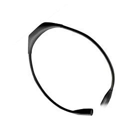 首かけライト ブラック LED ネックライト 360度調整可能 高輝度 アウトドア ランプ 夜 ランニング ウォーキング 作業ライト USB充電 KUBIRAIS-BK