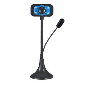 webカメラ マイク内蔵 ウェブカメラ 会議 USB マイク付き テレワーク 自宅 仕事 高音質 PC パソコン チャット REMOCAME